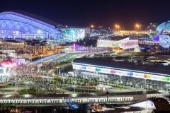 Олимпийский парк вечером 3