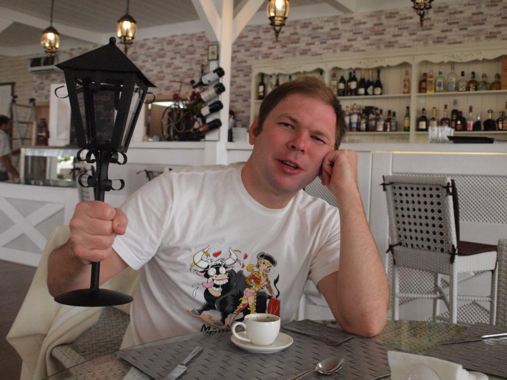 кофе в ресторане