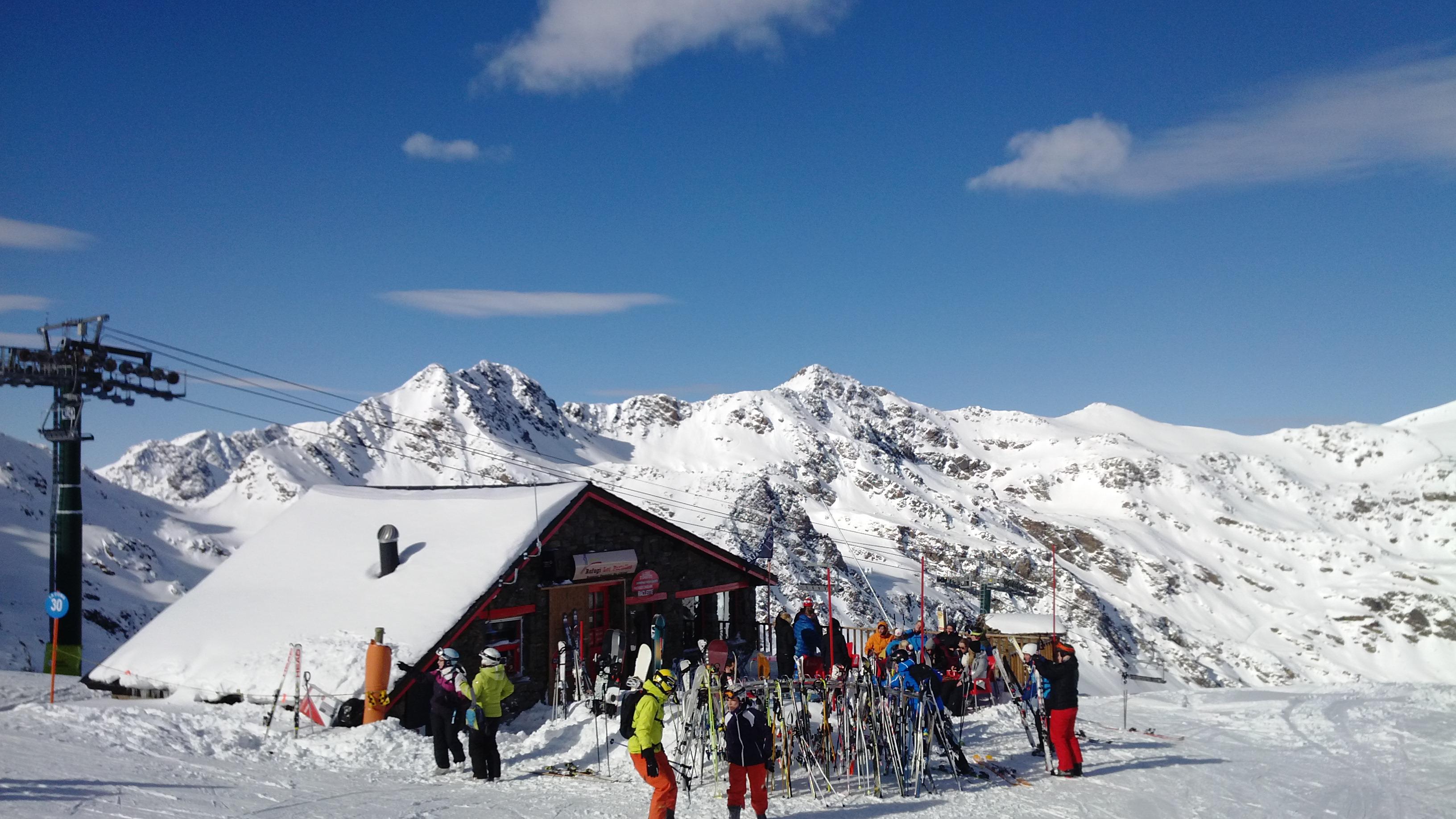 Горные лыжи в Андорре. Аркалис