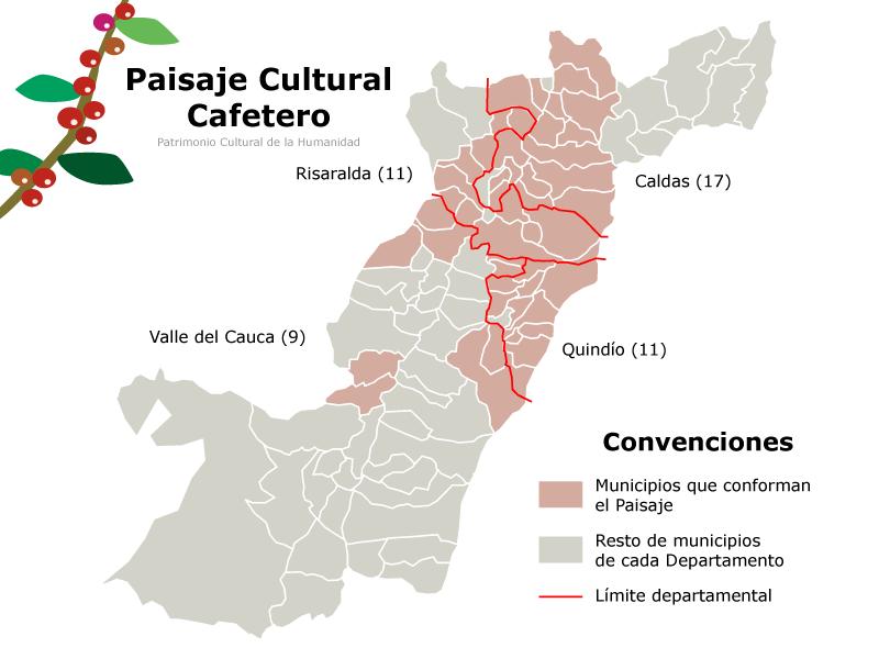 Паиса в Колумбии