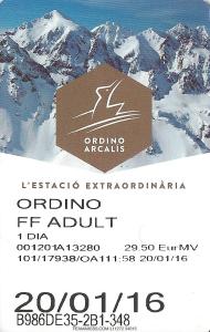 Skipass Ordino