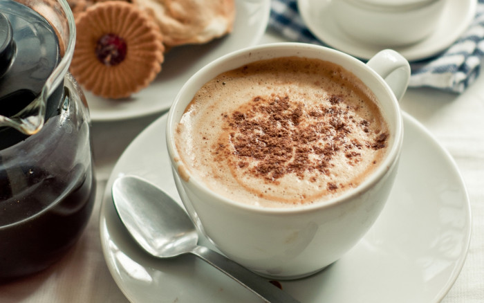 кофе с шоколадом